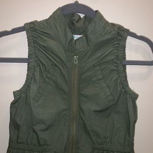 Old Navy Army Green Vest